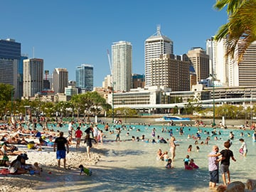 Streets Beach, South Bank