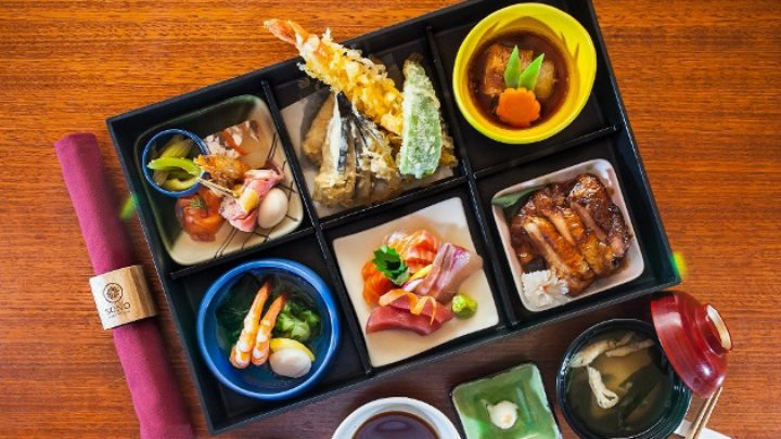 Bento box at Sono