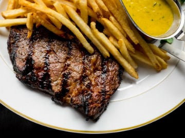 Les Bubbles steak frites