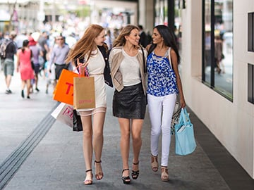 Friends shop on Queen Street Mall